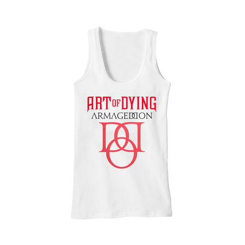 Armageddon Tank Top White