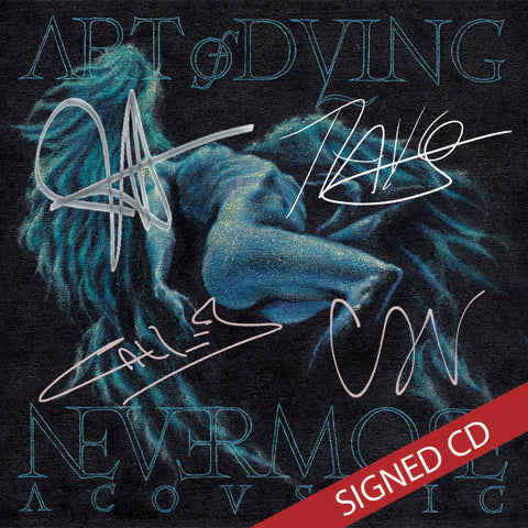 Signed Nevermore Acoustic CD