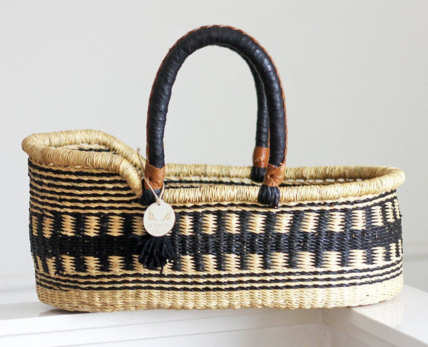 'Obsidian' Mini Moses Doll Basket