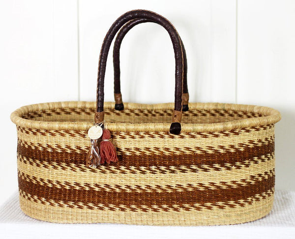 'Nest' Moses Basket  - (mattress included)