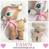 Personalised FAWN cushion/toy
