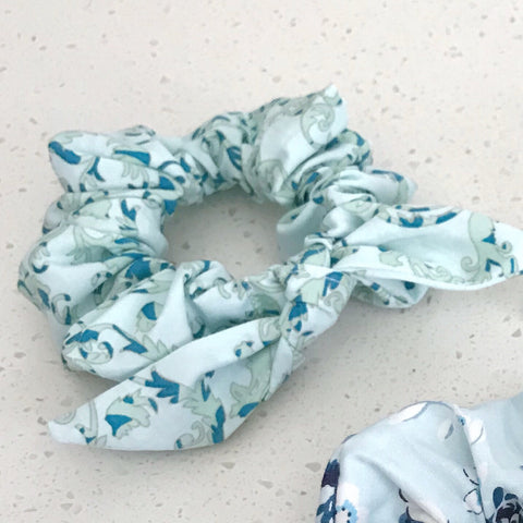 Top knot scrunchies
