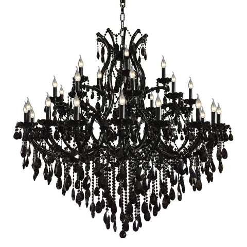 Noir Black Chandelier 150
