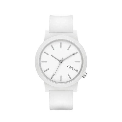 Montre KOMONO The Mono White Glow