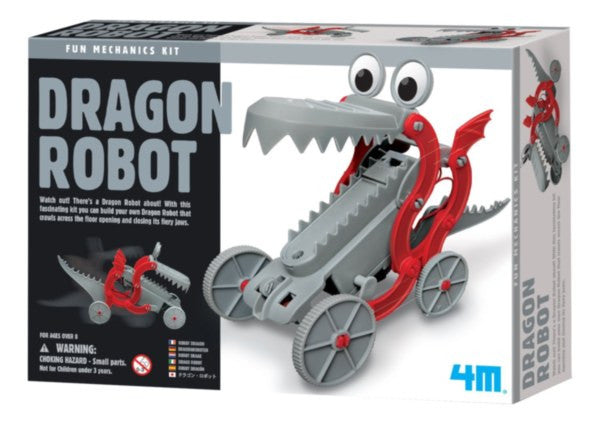 4M - P3381 | Fun Mechanics: Dragon Robot Building Kit