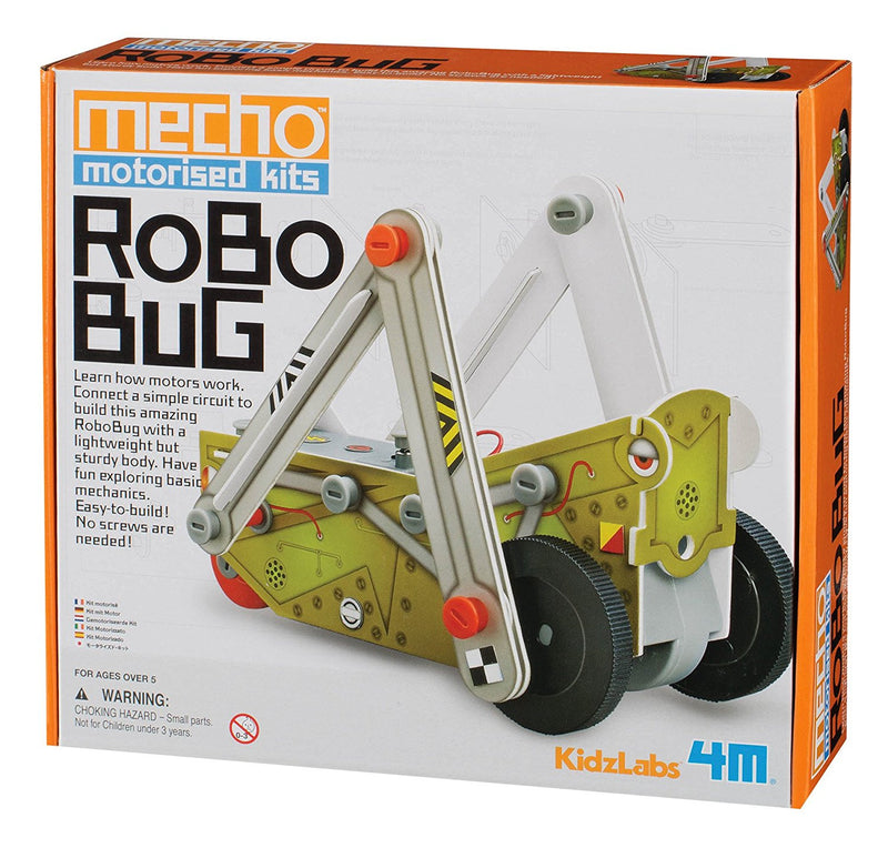 4M KidzLabs Mecho Motorized Kits Robo Bug - P3403