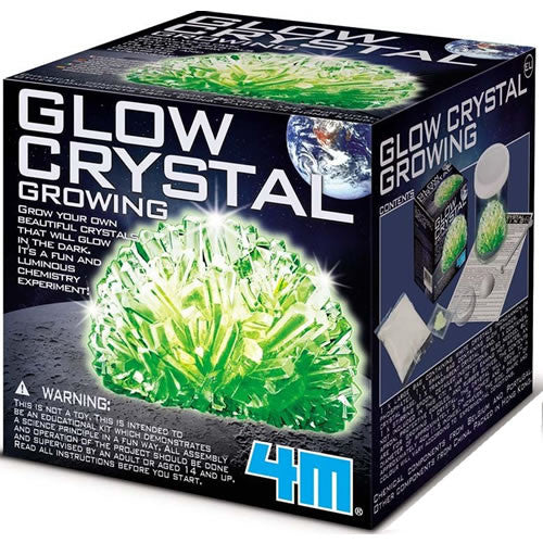 4M Glow Crystal Growing - P3918