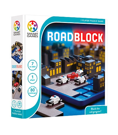 Smart Games - 513469 SG 250 | Roadblock Educational Logic Puzzle Game