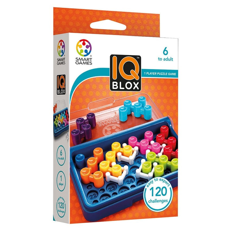 Smart Games - 518037 SG 466 | IQ Blox - Educational Logic Game Puzzle - 120 Challenges