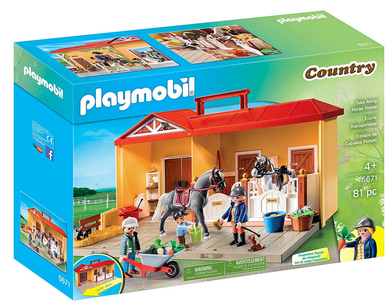 Playmobil - Country: Take Along Horse Stable