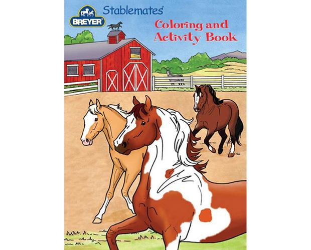 Breyer - 4160 | Stablemates Breyer Coloring and Activity Book