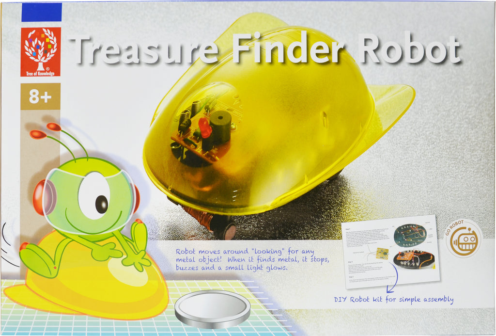 Elenco - EDU4002 | Treasure Finder Robot