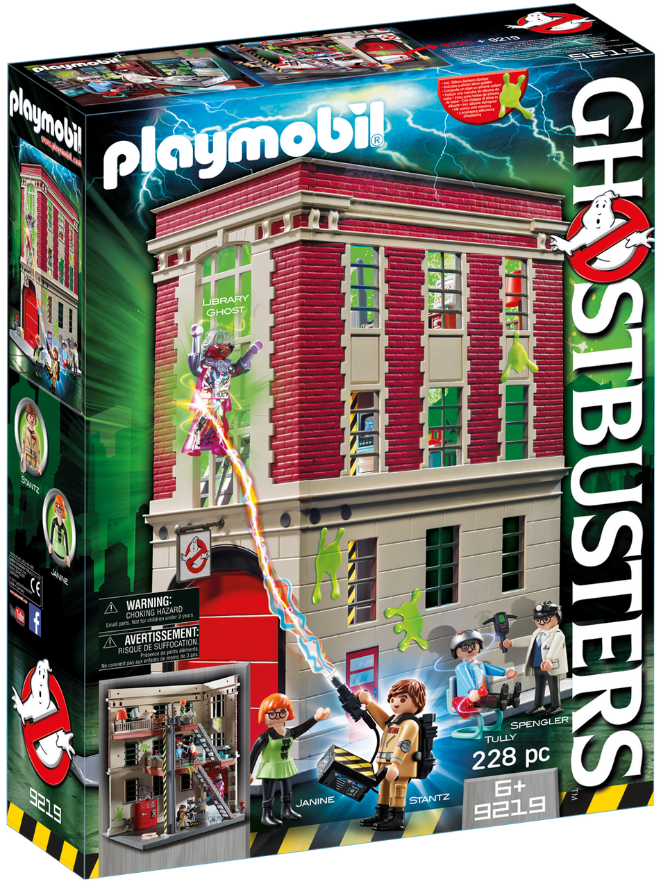 Playmobil - Ghostbusters: Firehouse