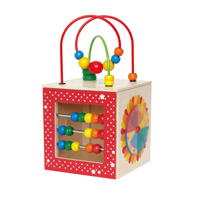Hape Discovery Box With Bead Maze Wooden - E1802