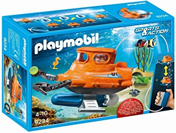 Playmobil - 9234 | Sports & Action: Submarine With Underwater Motor