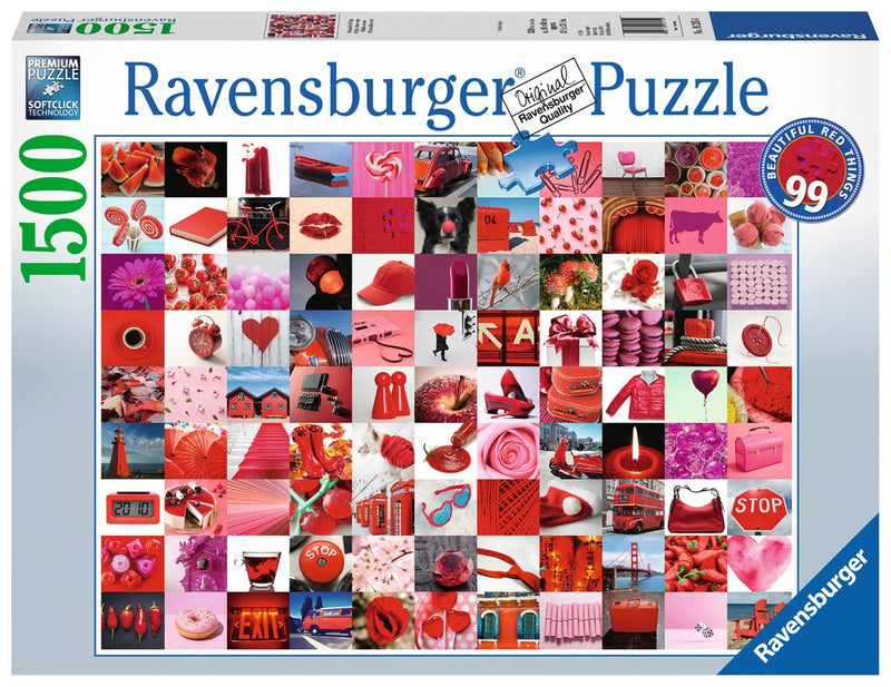 Ravensburger - 16215 | 1500 pc Pz 99 Beautiful Red Things