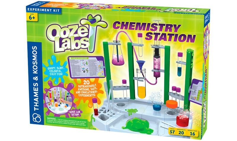 Thames & Kosmos - 642105 | Ooze Labs Chemistry Station