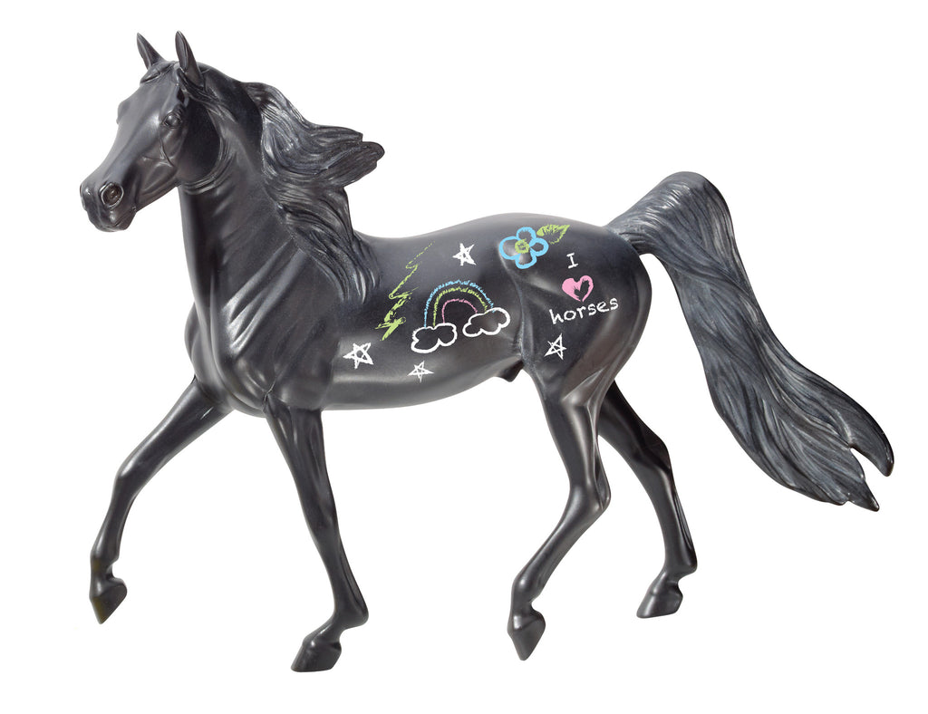 Breyer - 4089 | My Dream Horse: Chalkboard Horse