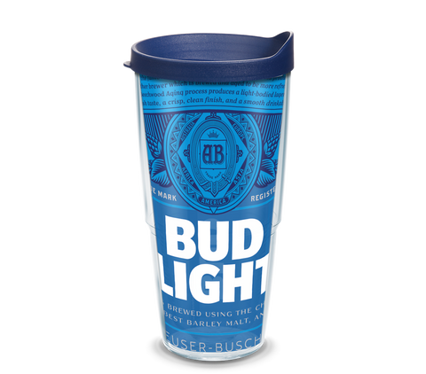 Tervis Bud Light Label Tumbler - 24oz