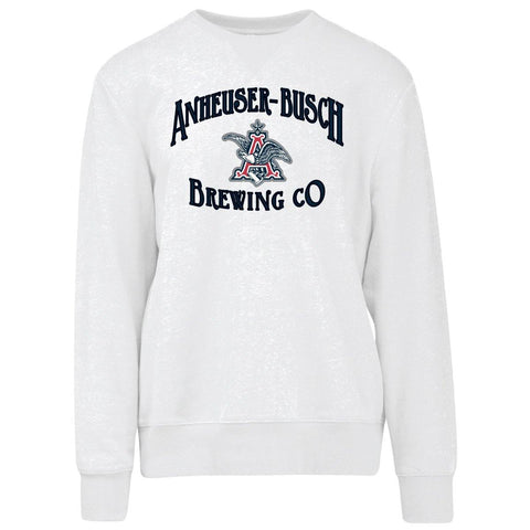 AB Brewing Co. Crew Neck Sweatshirt- White