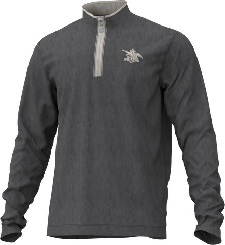 A&E 1/4 Zip Sweatshirt- Grey