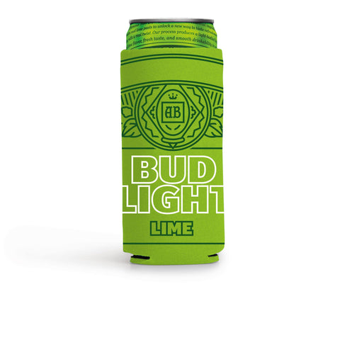 Bud Light Lime Slim Can Coolie
