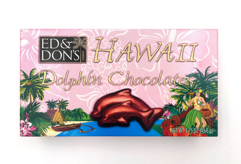 Hawaiian Dolphin Milk Chocolate 1.75oz