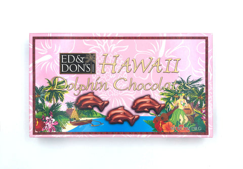 Hawaiian Dolphin Milk Chocolate 7oz