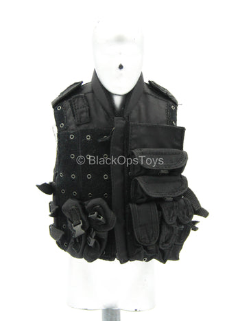 LAPD - SWAT - Black Tactical Vest