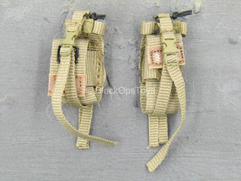 U.S. Air Force TACP/JTAC - Tan Magazine Pouch Set