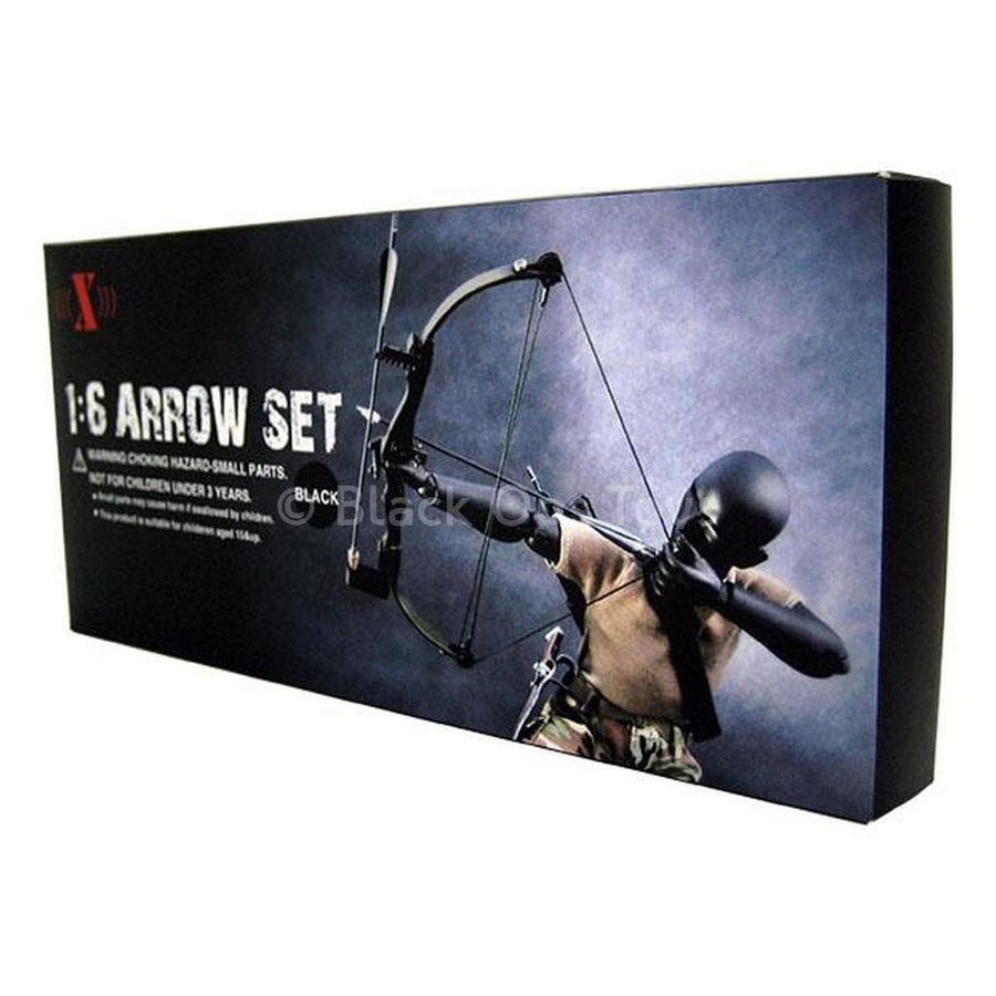 X Toys 1:6 Rambo Black Bow and Arrow Set