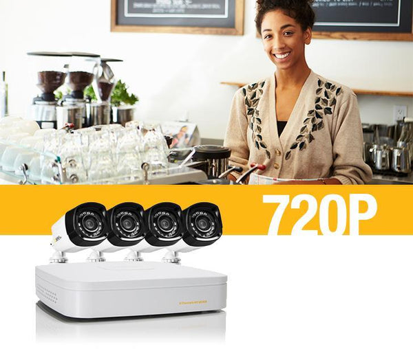 720p Security Camera Overview