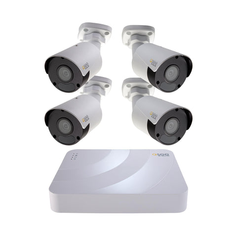 4K Ultra HD 8 Channel IP Security System with 2TB Hard Drive and 4 4K IP Outdoor Bullet Cameras with Color Night Vision (K82K1.4) IP HD KIT  - Q-See