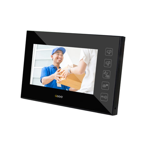 "Wired Video Doorphone with 7"" LCD Screen - (Q-VID)"