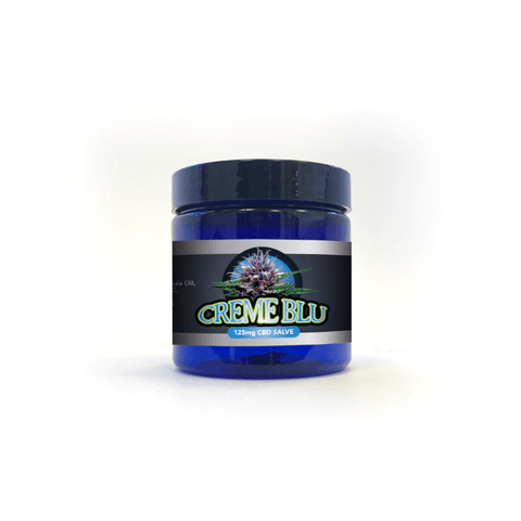 Blue Moon Hemp Creme Blu CBD Salve - 1oz, 2oz, or 4oz