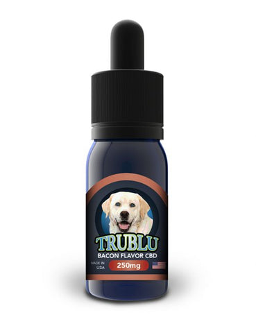 Blue Moon Hemp - Tru Blu Bacon CBD K9 Tincture or Tru Blu Tuna CBD Cat Tincture 250mg