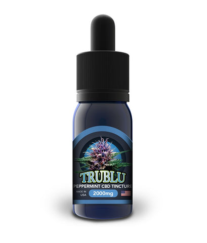 Blue Moon Hemp Tru Blu CBD Tinctures - 100mg, 250mg, 500mg, 1000mg, 2000mg or 3,000mg