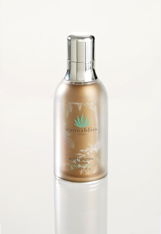 Cannabliss Organic Moisturizing Face Lotion