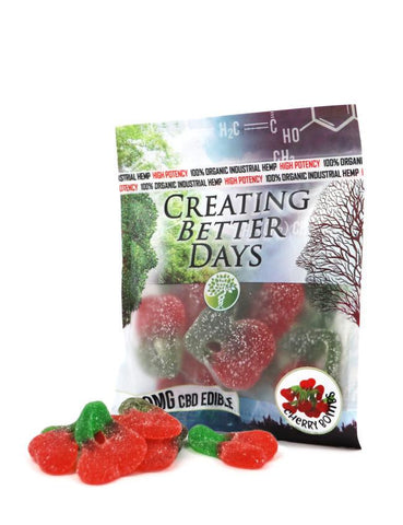 Creating Better Days CBD Cherry Bomb Gummies