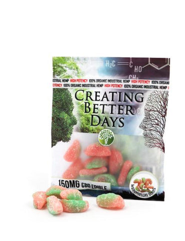 Creating Better Days CBD Gummy Watermelon Slices