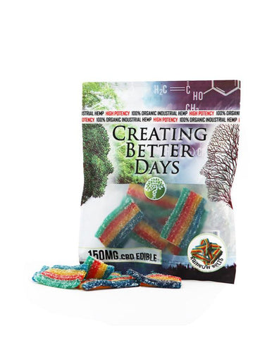 Creating Better Days CBD Rainbow Strips Gummies