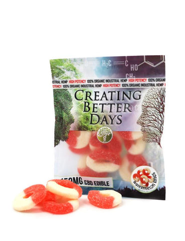 Creating Better Days CBD Watermelon Rings