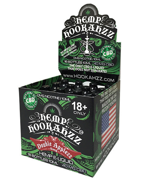 Hemp Hookahzz: 18mg CBD E-Liquid