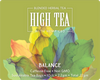 High Tea Today Sustainable Teabags with Hemp CBD - 10 Count 2.2g or 1oz Bag that makes 1 Gallon