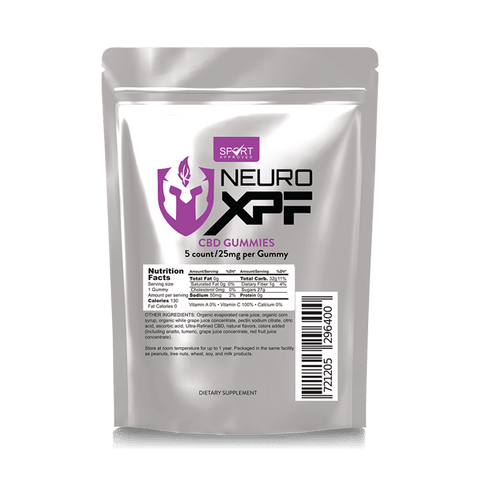 Neuro XPF CBD Gummies - 25mg