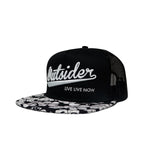 #OUTSIDER Mesh Hat - Islander Flat Bill - Hat Mount for GoPro