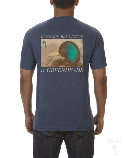 Blondes Brunettes & Greenheads Mens Short Sleeve T-Shirt