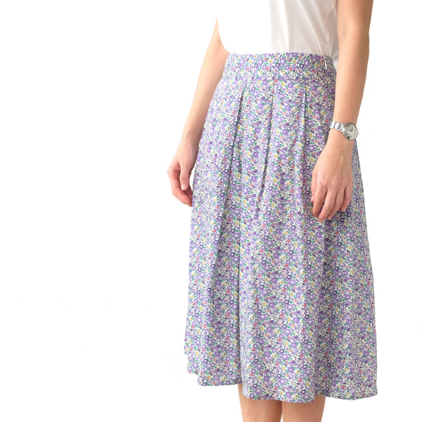 Yumi Betsy Anne Purple Skirt - PREORDER