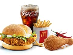 McDonald's Spicy Squad - Dr Bake Pakistan Send gifts to Lahore, Karachi, Islamabad, Pakistan
