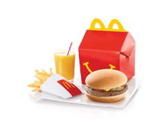 McDonald's Happy Meal Beef Burger - Dr Bake Pakistan Send gifts to Lahore, Karachi, Islamabad, Pakistan